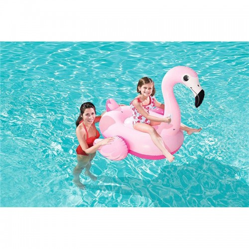 Çocuk Pembe Flamingo Deniz Yatağı