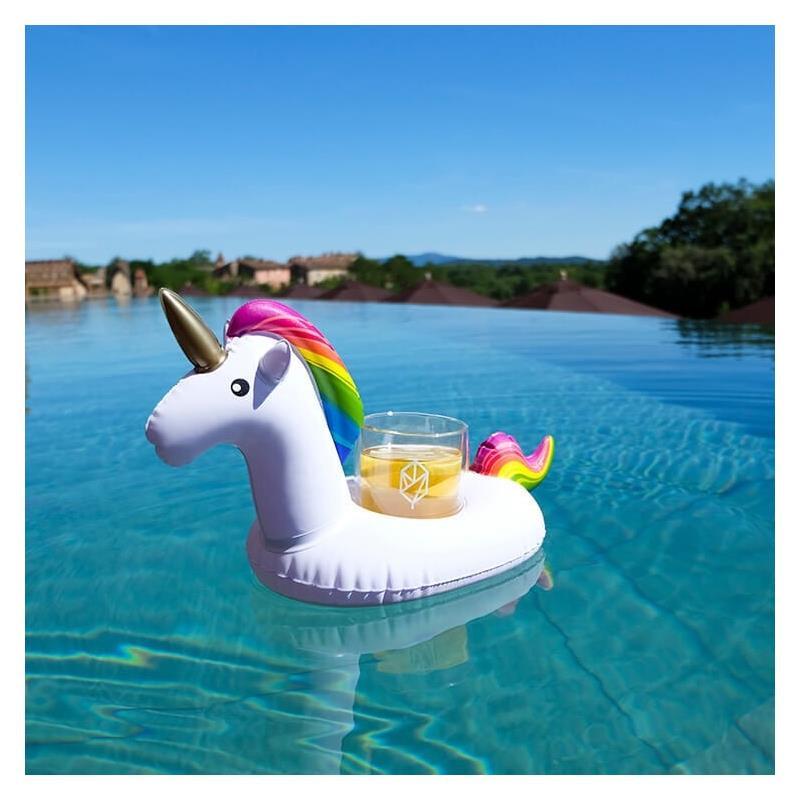 Mini Unicorn Bardaklık Float
