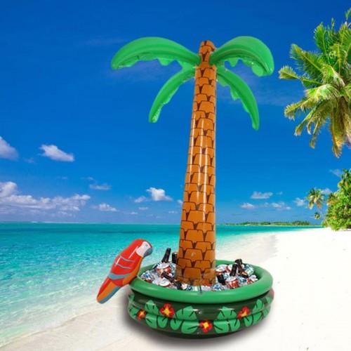 Şişme Palmiye Ağacı Buzluk