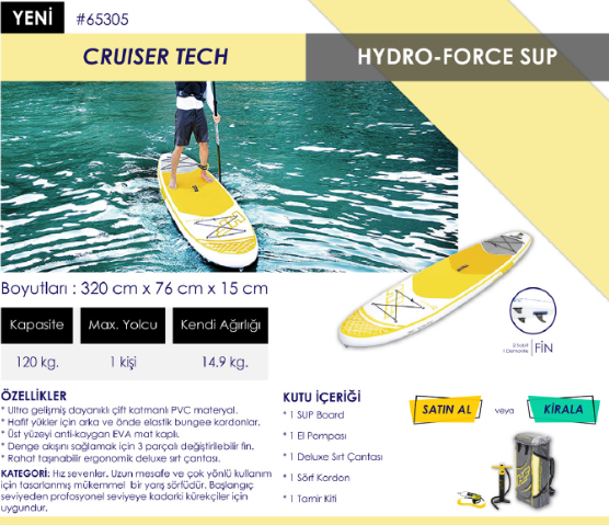 Stand Up Paddle Cruiser Tech