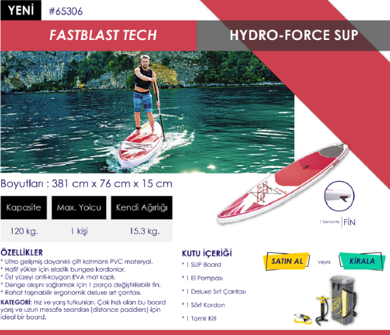 Stand Up Paddle Fastblast Tech